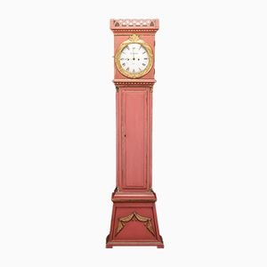 Antique Danish Grandfather Clock, 1856