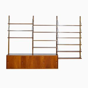 Modular Shelving System Bookcase by Poul Cadovius, 1960s
