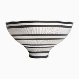 Vintage Faiance Bowl by Stig Lindberg for Gustavsberg