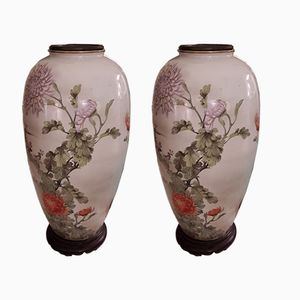 Japanese Vases, 1960s, Set of 2