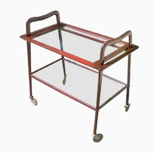 Model E 60 Serving Bar Cart by Ico Parisi for De Baggis, 1956