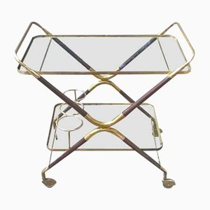 Serving Bar Cart by Cesare Lacca, 1950s