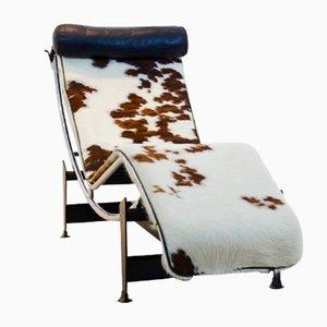Chaise longue LC4 vintage di Le Corbusier, Pierre Jeannert & Charlotte Perriand per Cassina