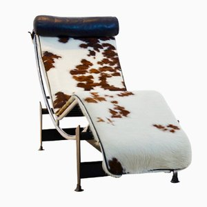 Shop chaise lounges online at pamono for Chaise longue le corbusier precio