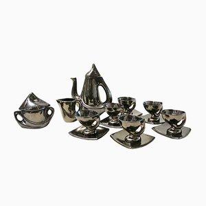 Servizio da tè vintage in ceramica