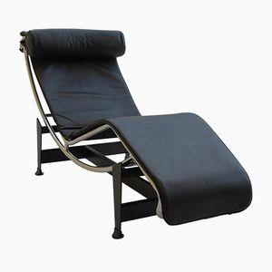 Chaise longue LC4 vintage di Le Corbusier, Perriand e Jeanneret per Cassina