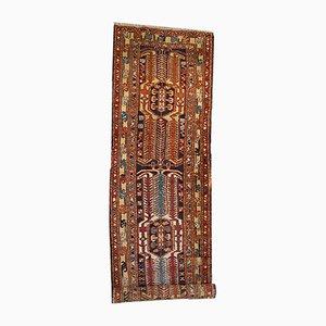 Tappeto da corridoio Heriz vintage fatto a mano, Iran, anni '30