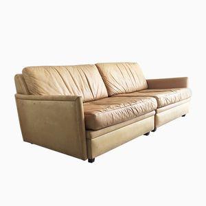 Modulares Schwedisches 2-Sitzer Sofa von Dux, 1970er