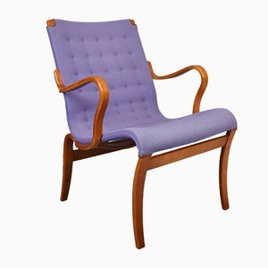 Mid-Century Swedish Eva Chair by Bruno Mathsson for Karl Matthsson