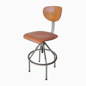 Industrial Height Adjustable Chair