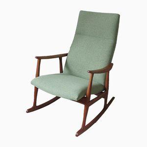 Vintage Danish Rocking Chair in Teak
