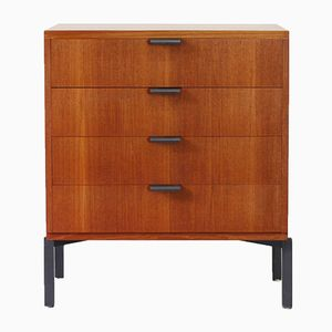 Teak Chest of Drawers by Herbert Hirche for Holzäpfel, 1950s