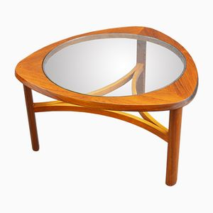 Mid-Century Teak and Glass Coffee Table from Nathan