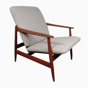 Danish Teak Armchair by Hans Olsen for Frem Røjle, 1960s