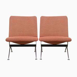 K1 Sessel von A.R. Cordemeyer für Gispen, 1960er, 2er Set