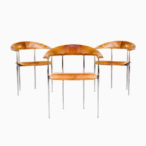 Italienische Stühle von G. Vegni & G. Gualtierotti für Fasem, 1980er, 3er Set