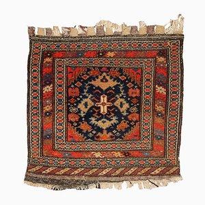 Antiker Handgemachter Persischer Malayer Bag Face Teppich, 1900er
