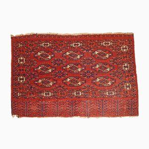 Tappeto Turkmen Yomud antico fatto a mano, fine XIX secolo