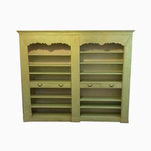 Mid-Century Lacquered French Bookcase