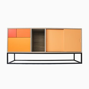 Orange Real Sideboard by Studio Deusdara