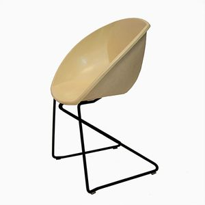 Vintage Norwegian Popcorn Stacking Chair by Sven Ivar Dysthe for More Mobler