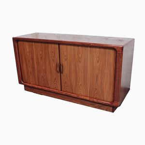 Danish Rosewood Tambour Sideboard from Dyrlund, 1960s