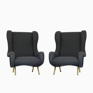 Senior Armchairs by Marco Zanuso for Arflex, 1951, Set of 2