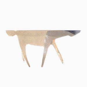 Versilberter Cavallo Horse Tisch von Gio Ponti für Lino Sabattini, 1978