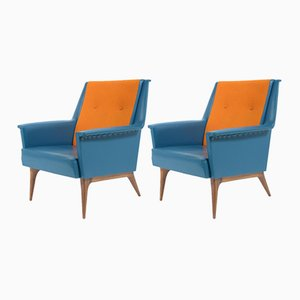 Mid-Century Armchairs from Castelli, 1957, Set of 2