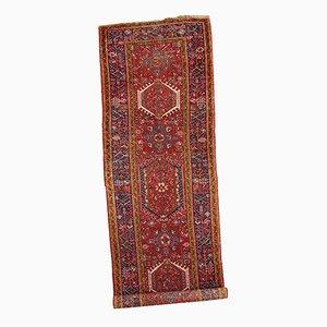 Vintage Persian Karajeh Handmade Runner Rug, 1920s