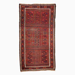 Antique Afghan Baluch Handmade Rug, 1900s