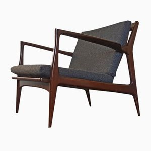 Mid-Century Armchair by Ib Kofod-Larsen for Selig, 1950s