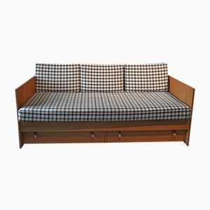 Vintage Danish Sofa Bed by Børge Mogensen for Søborg Møbelfabrik