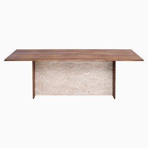 Aditi Tisch aus Travertin von Johanenlies