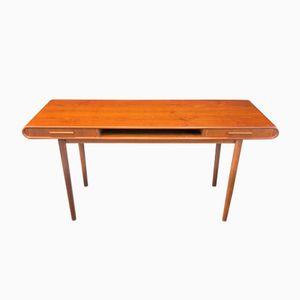 Vintage Scandinavian Teak Console Table