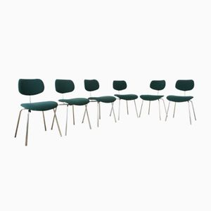 Mid-Century SE68 Chairs by Egon Eiermann for Wilde+Spieth, Set of 6