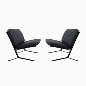 Mid-Century Joker Armchairs by Olivier Mourgue for Airborne, 1960s, Set of 2