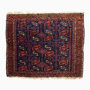 Antiker Handgemachter Afghanischer Baluch Bagface Teppich, 1880er