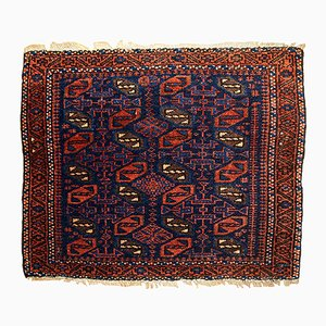Tappeto antico beluci Bagface fatto a mano, Afghanista, fine XIX secolo