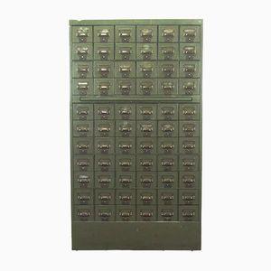 Belgischer Schrank mit 66 Schubladen von C.lechat, 1950er