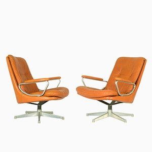 Gentilina Lounge Chairs by André Vandenbroeck for Strässle, 1960s, Set of 2