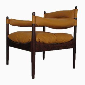 Dänischer Palisander Sessel von Kristian Solmer Vedel für Søren Willadsen Møbelfabrik, 1960er