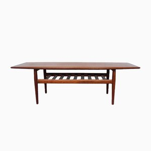 Large Danish Coffee Table by Grete Jalk for Glostrup Møbelfabrik, 1960s