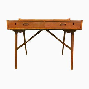 Teak Desk Model 56 by Arne Wahl Iversen for Vinde Møbler