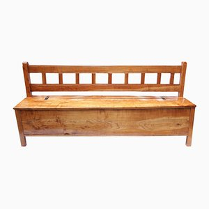 Antique Settle in Solid Cherrywood