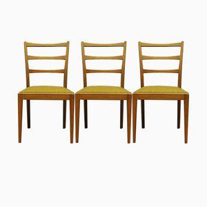 Dänische Stühle, 1960er, 3er Set