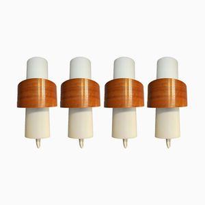 NX40 Wandlampen von Louis Kalff für Philips, 1950er, 2er Set