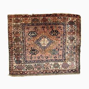 Vintage Persian Kurdish Handmade Bagface Rug, 1930s