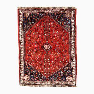 Tapis Gashkai Vintage Fait Main, Iran, 1960s