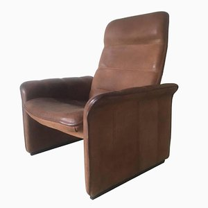 Model DS-50 Adjustable Leather Lounge Chair from De Sede, 1960s